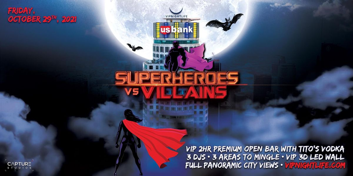 Halloween LA party -  Superheroes vs Villains Tower, 29 October | Event in Los Angeles | AllEvents.in