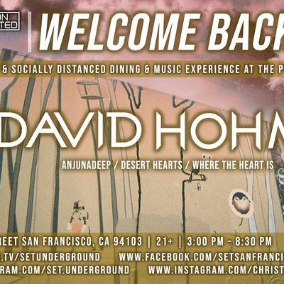 SETs Halloween Sunday w David Hohme (Anjunadeep Desert Hearts)