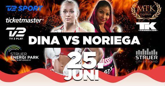 Dina Thorslund vs. Jasseth Noriega   Event in Struer   AllEvents.in