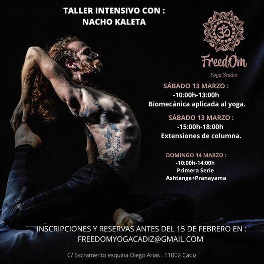 Intensivo Yoga con Nacho Kaleta, 13 March | Event in Cadiz | AllEvents.in