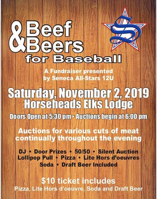 Beef & Beers for Baseball