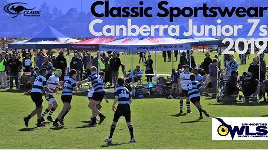 Classic Sportswear Canberra Juniors 7s