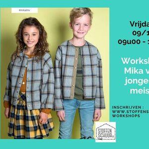 Workshop Mika vest