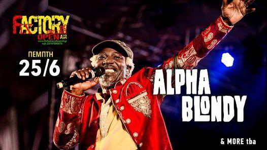 Alpha Blondy  more tba