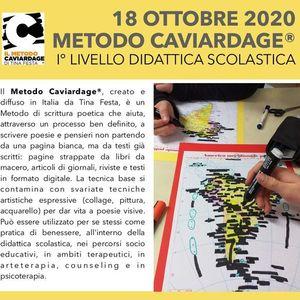 SOLD OUT - Corso metodo Caviardage I Livello didattica scolastica