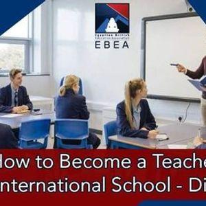 Diploma of Teachers Prep to Work in International Schools