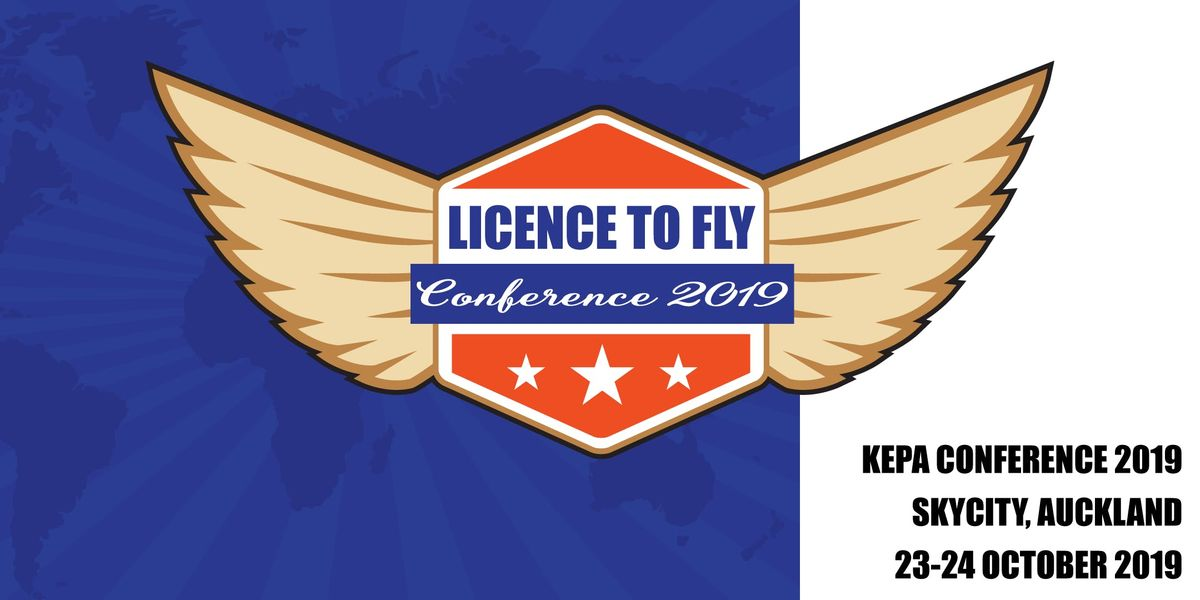 Licence to Fly  2019 Kepa Conference