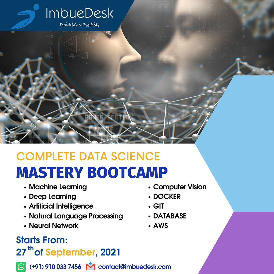 Complete Data Science Mastery Bootcamp | Online Event | AllEvents.in