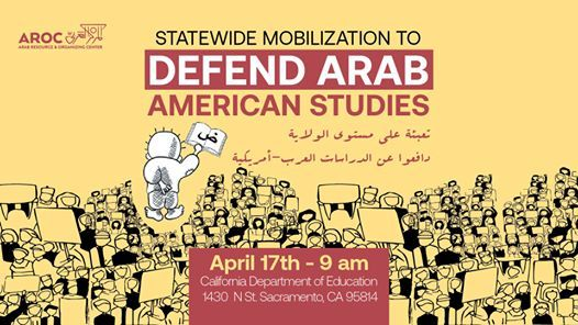 Defend Arab American Studies Statewide Mobilization