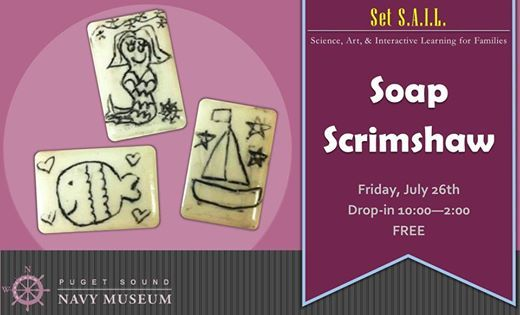 Set SAIL Friday Soap Scrimshaw