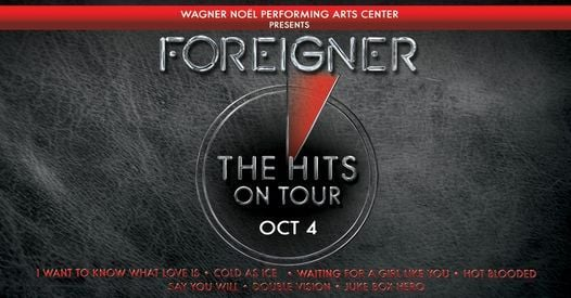 New Date Foreigner - Midland TX