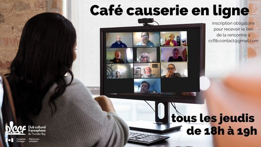 Café-causerie du CCF, 22 April | Event in Thunder Bay | AllEvents.in
