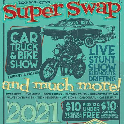 AutoRama & Swap Meet (Third Sunday Every Month)