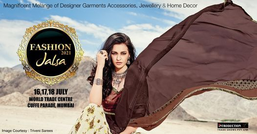 Fashion Jalsa 16-17-18 July 2021, 16 July | Event in Mumbai | AllEvents.in