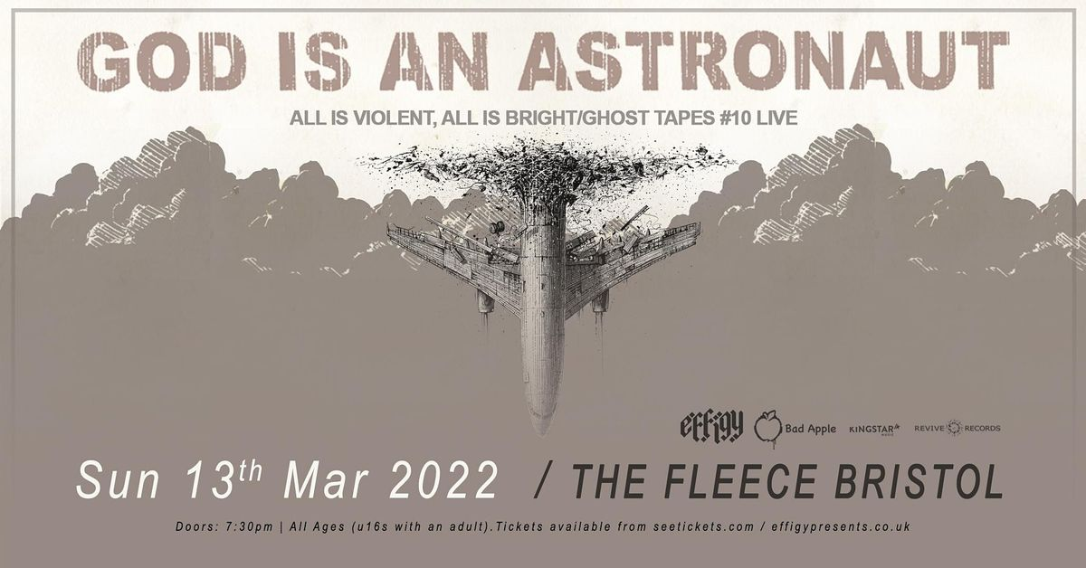 God Is An Astronaut, 13 March   Event in Bristol   AllEvents.in