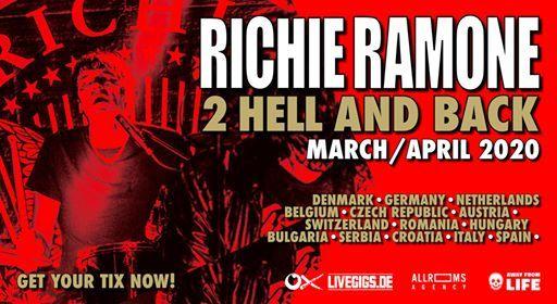 Richie Ramone  Bremen (Lagerhaus)