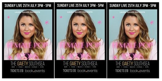 SUNDAY LIVE featuring Laura Miller at The Gaiety Bar, South Parade Pier, 25 July   Event in Fareham   AllEvents.in