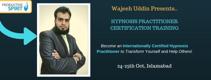 Hypnosis Practitioner Certification Program | Event in Islamabad | AllEvents.in