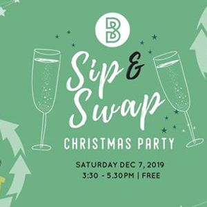 Sip and Swap Christmas Party