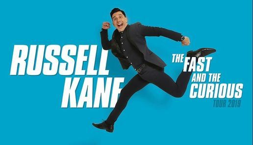 Russell Kane : The Fast and the Curious, 1 May | Event in Telford | AllEvents.in