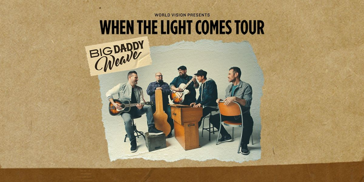 Big Daddy Weave - When the Light Comes Tour, 13 March | Event in Davenport | AllEvents.in