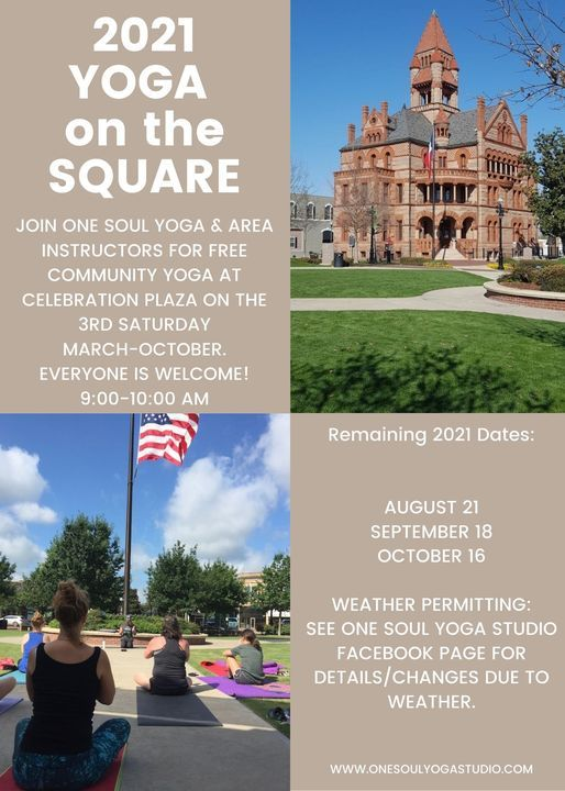 August Yoga on the Square, 21 August | Event in Sulphur Springs | AllEvents.in
