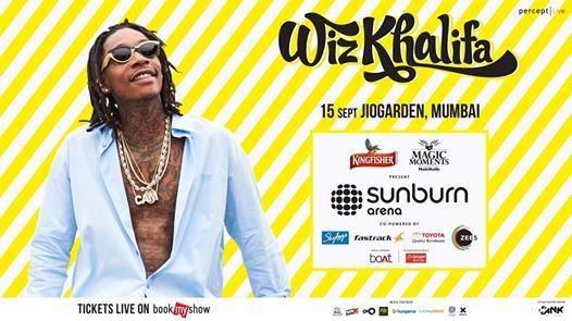 Sunburn Arena with Wiz Khalifa - Mumbai