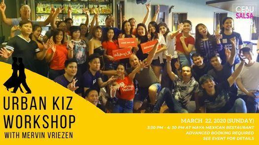 Urban Kiz Workshop, 20 March | Event in Cebu | AllEvents.in