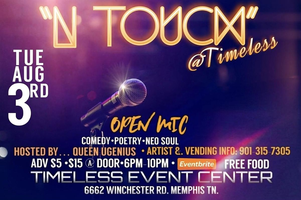 N-TOUCH @Timeless, 3 August | Event in Memphis | AllEvents.in