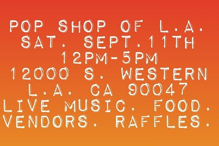 POP SHOP OF L.A.   Event in Los Angeles   AllEvents.in