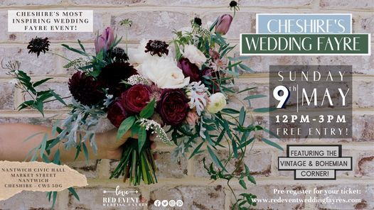 Cheshire's Wedding Fayre - Nantwich Civic Hall, 9 May | Event in Nantwich | AllEvents.in