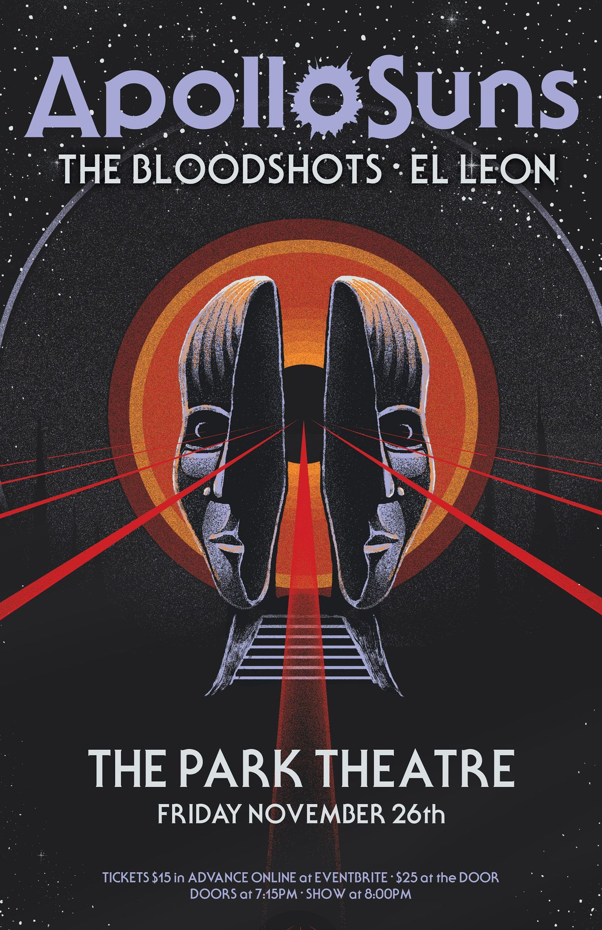 Apollo Suns live at the Park w/ The Blood Shots & El Leon, 26 November | Event in Winnipeg | AllEvents.in