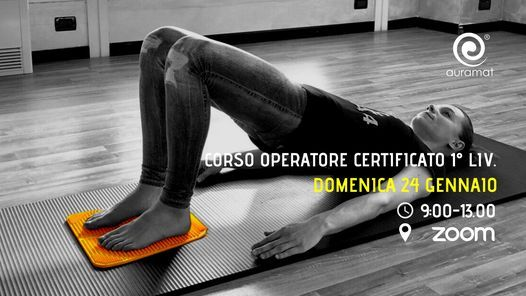 Corso Certificato Metodo Auramat®, 24 January | Online Event | AllEvents.in