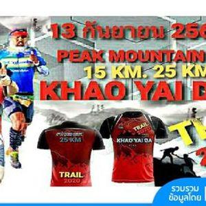 Peak Mountain Khao Yai Da Trail 2o2o