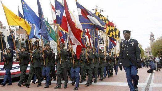 Keller Christmas Parade 2020 Tarrant County Veterans Day Parade 2020   Purple Heart Float, S