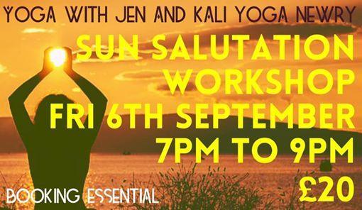 Sun Salutation Workshop With @yoga with Jen and @Kali Yoga