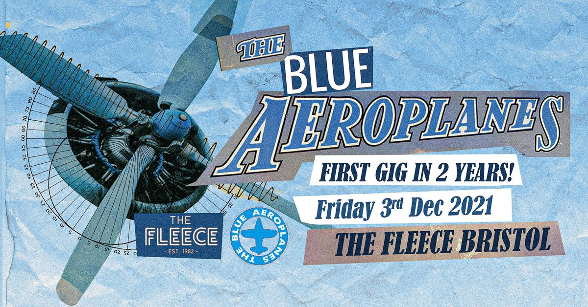 The Blue Aeroplanes, 3 December | Event in Bristol | AllEvents.in