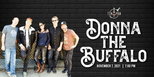 Donna The Buffalo at The Tin Pan, 7 November | Event in Richmond | AllEvents.in