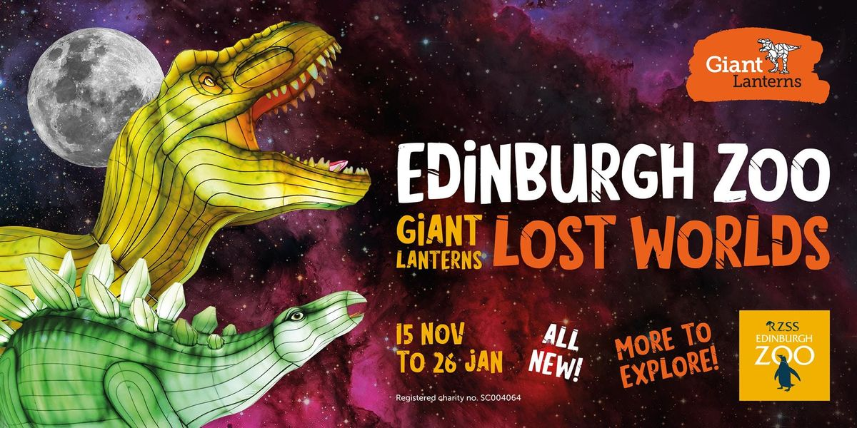 Giant Lanterns - Lost Worlds - 18th December (Off Peak)