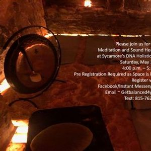 Sold Out Salt Room Meditation & Sound Healing with the Gong
