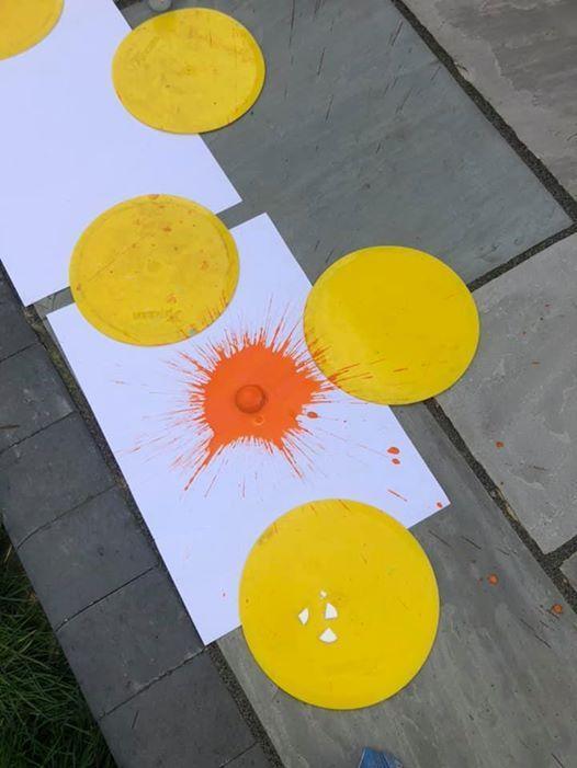 Summer Science - Paint rockets
