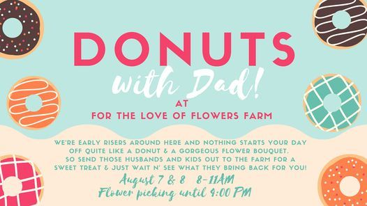 Donuts With Dad @ The Flower Farm!, 7 August   Event in Franksville   AllEvents.in