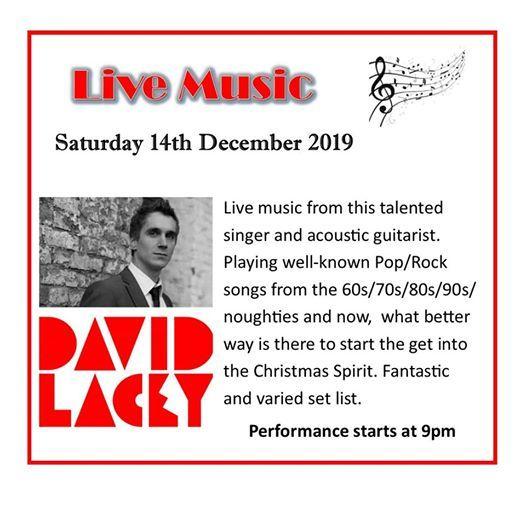 Live Music - David Lacey