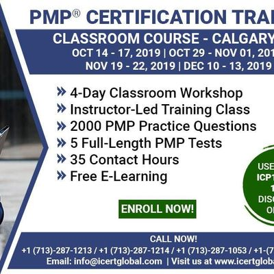 PMP Certification Training Course in Calgary AB Canada