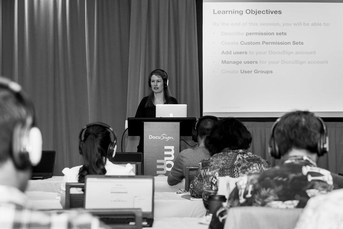 Momentum Sydney DocuSign University Learning Labs