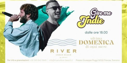 Give me Indie • River Urban Beach, 25 July   Event in Florence   AllEvents.in