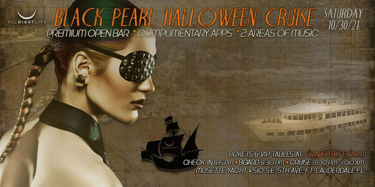 Fort Lauderdale Halloween Yacht Party - The Black Pearl, 30 October   Event in Fort Lauderdale   AllEvents.in