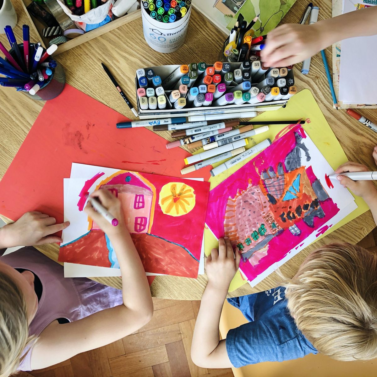 PAINTING FOR KIDS: Camping, 11 August   Online Event   AllEvents.in