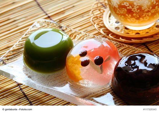 Japanische Sommergerichte - inkl. japanisches Dessert
