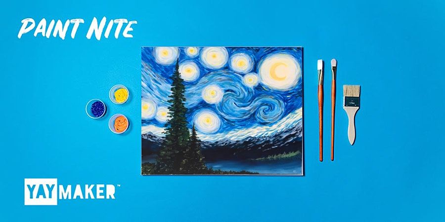 Paint Nite: The Original Paint and Sip Party, 28 January | Event in Calgary | AllEvents.in